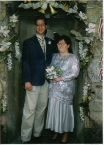 Our wedding, February 28, 1998